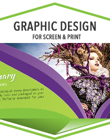 Graphic Design for Screen and Print